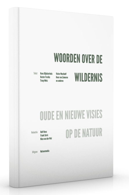 Woorden over de wildernis voorzijde